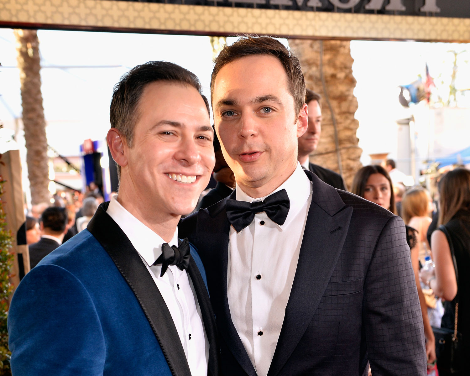 Jim Parsons Wedding Photos Are Insanely Cute See More Here
