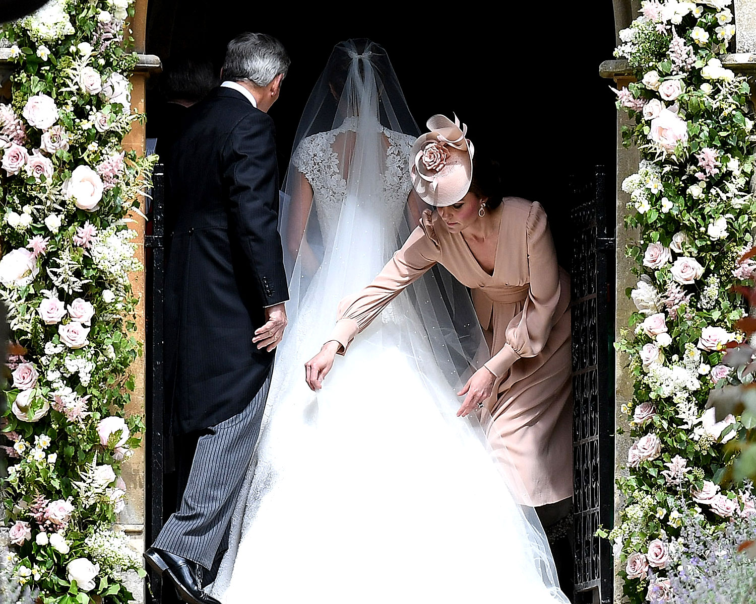 Kate Middleton Pippa wedding