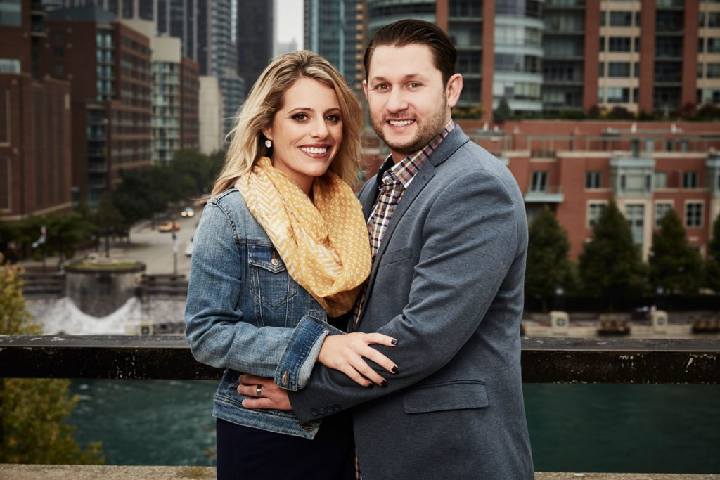 Ashley Petta and Anthony D'Amico are participants in season 5 of Married at First Sight. (Credit: Lifetime)