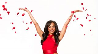 The Bachelorette premiere just happened, but two gowns from bridal designer Randi Rahm have already been featured on Rachel Lindsay. Read The Knot interview with Rahm here. (ABC/Craig Sjodin)