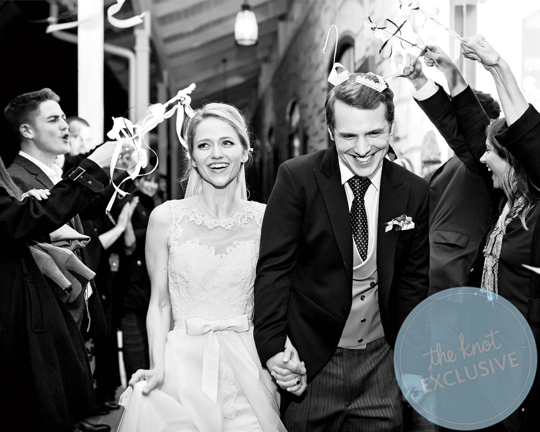 Johanna Braddy Freddie Stroma Wedding