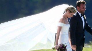 Erin Andrews wedding dress