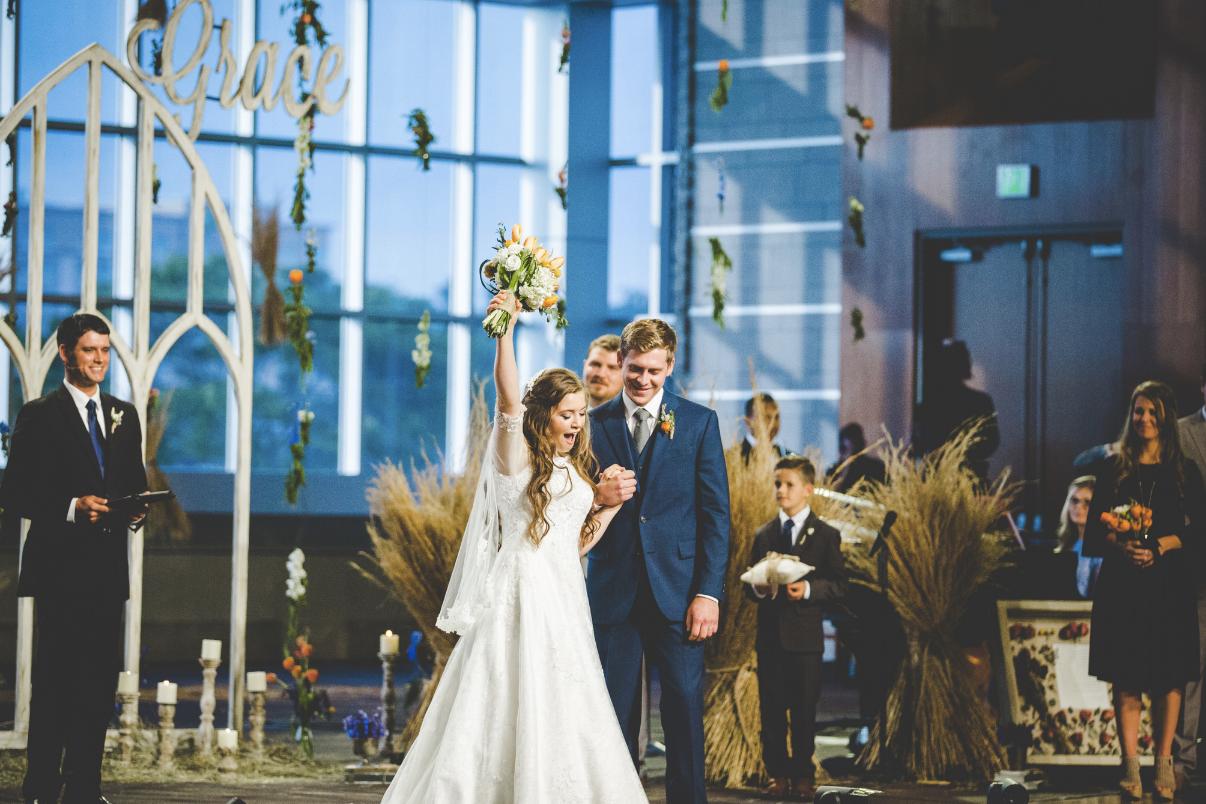Joy pohland wedding