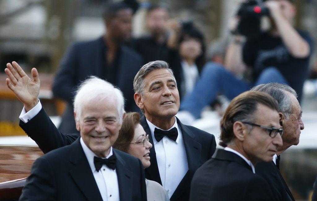 Clooney family