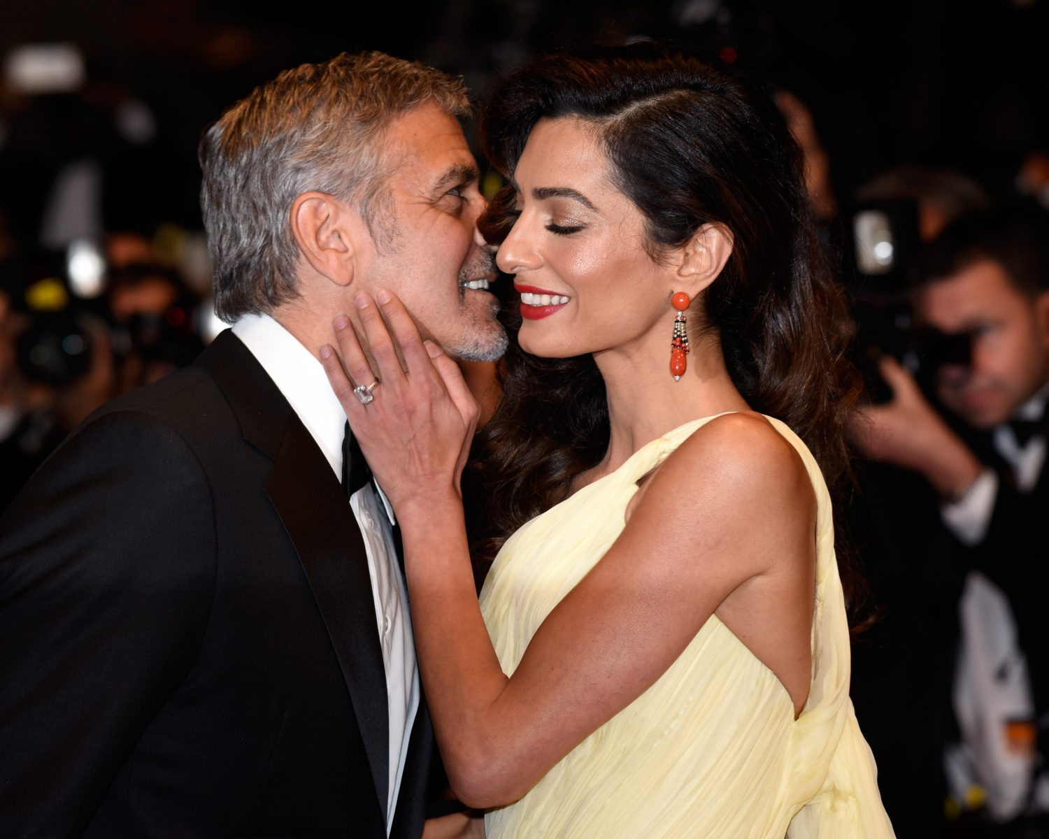George Clooney and his darling officially sealed their relationship 09/29/2014 34