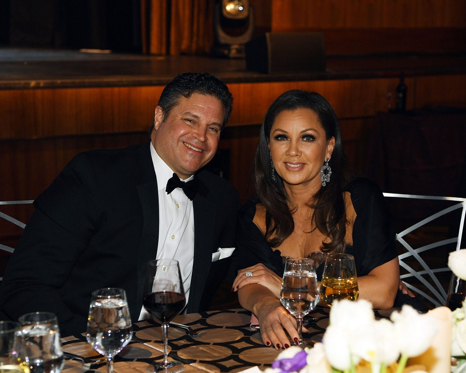 Vanessa Williams med Man Jim Skrip
