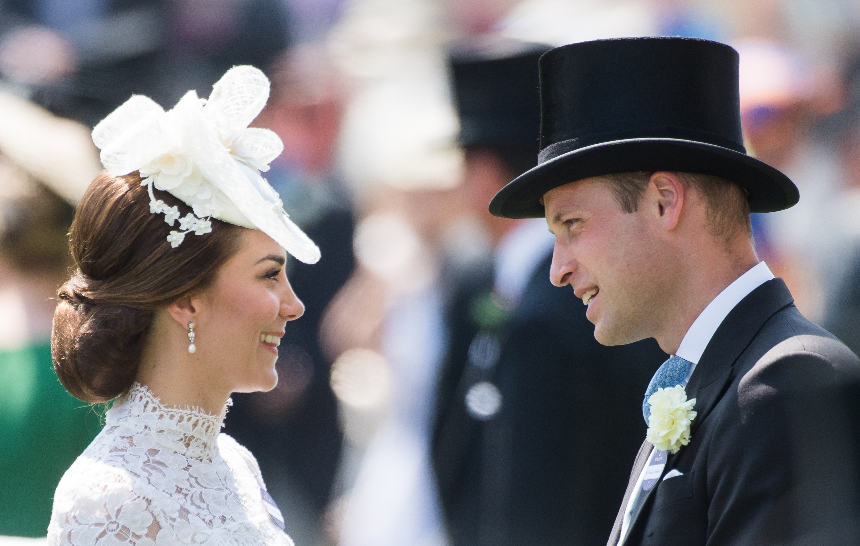 Kate Middleton's Royal Ascot Dress Resembles Her Wedding Gown