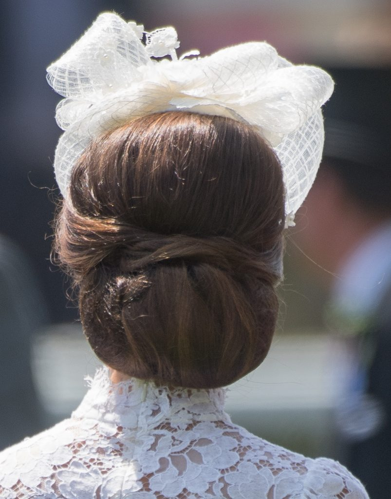 Kate Middleton ascot hair