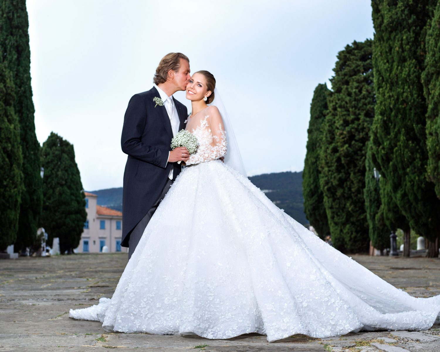 Victoria Swarovski and Werner Muerz's wedding