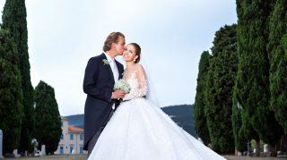 Victoria Swarovski and Werner Muerz's wedding