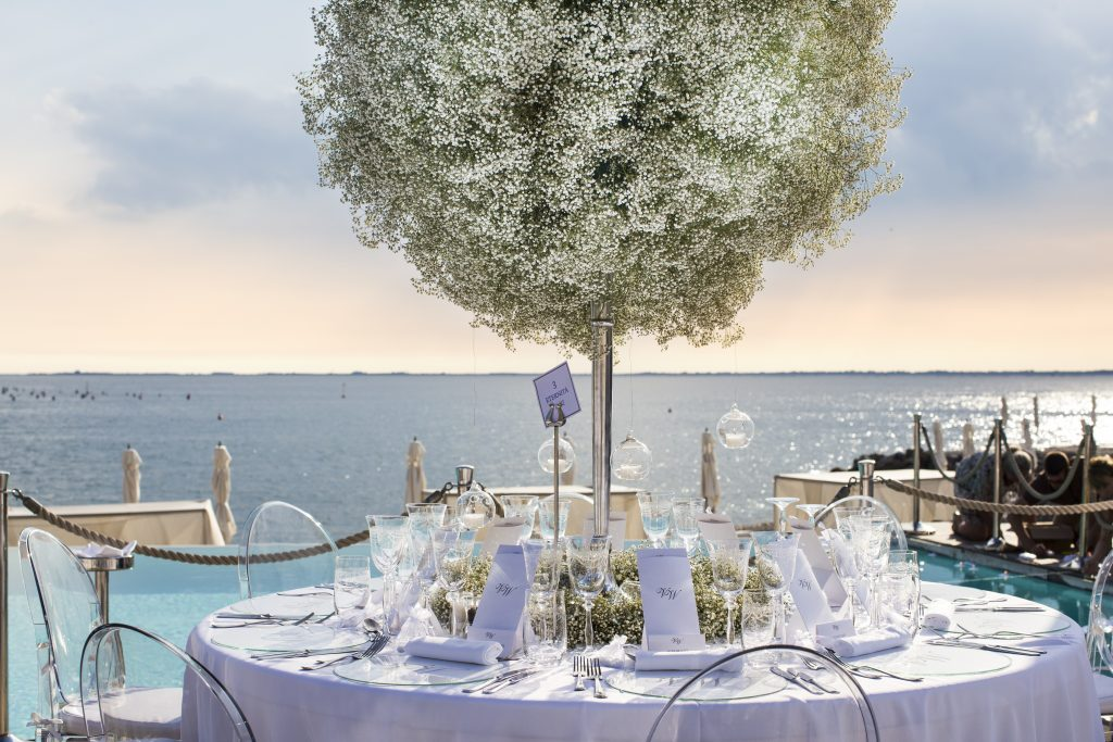A general view of the wedding location Porto Piccolo during the wedding of Victoria Swarovski and Werner Muerz on June 16, 2017 in Trieste, Italy. (Photo by Chris Singer/Johannes Kernmayer/CUEX GmbH/Getty Images)