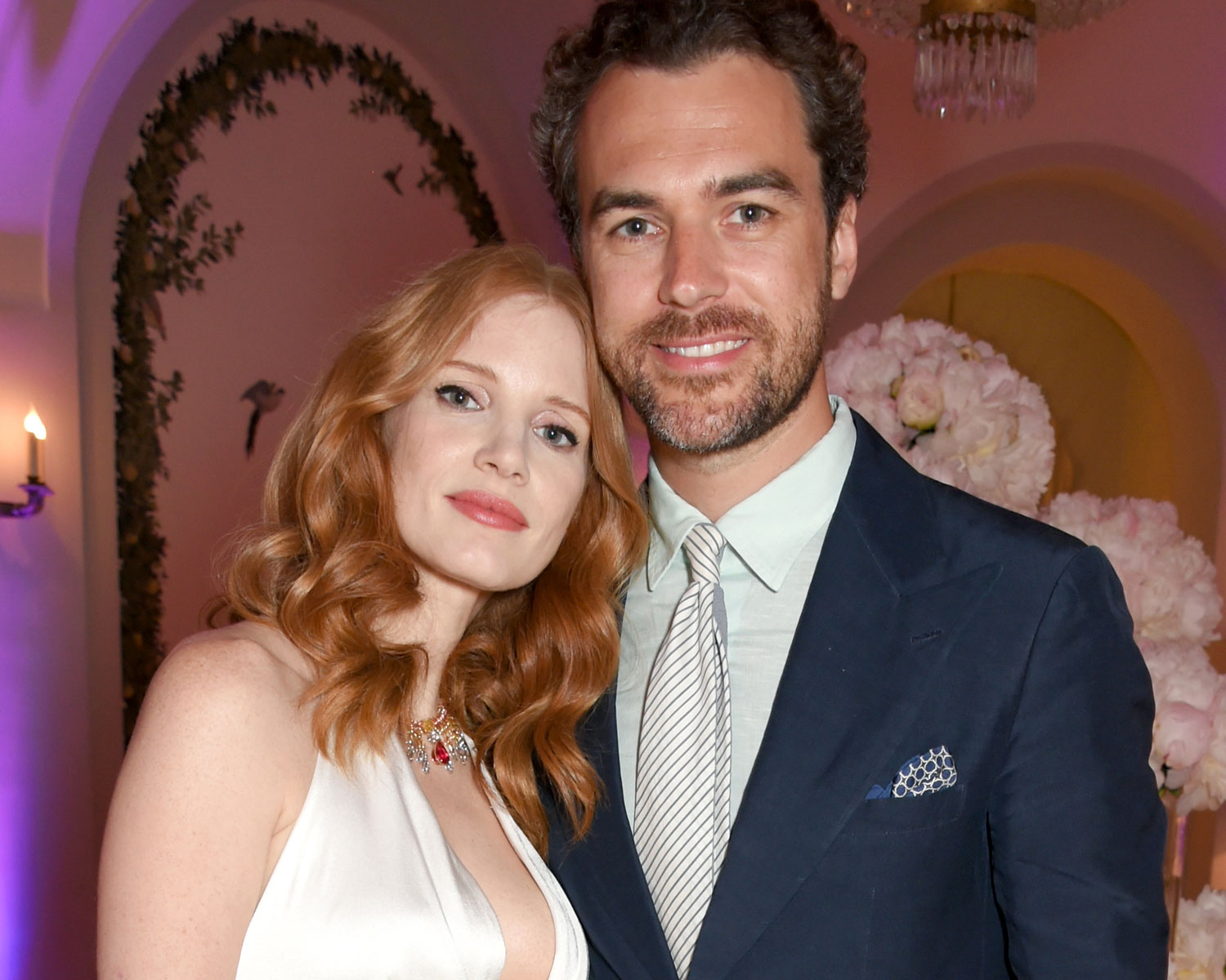jessica chastain wedding