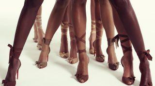 Louboutin Nude collection stilettos