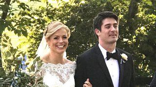 Pamela Brown wedding