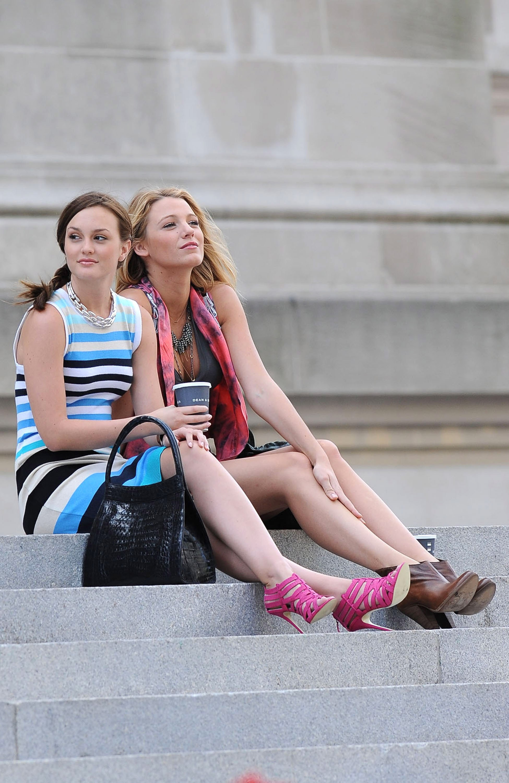 Blair Waldorf Serena Van Der Woodsen Gossip Girl