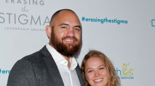Ronda Rousey Travis Browne wedding