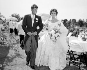 Jackie John F Kennedy Wedding 1953 Newport