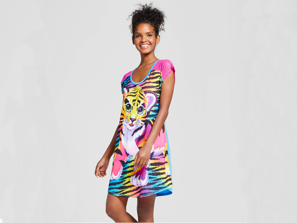 Lisa Frank's pajama collection with Target. (Photo courtesy of Target)