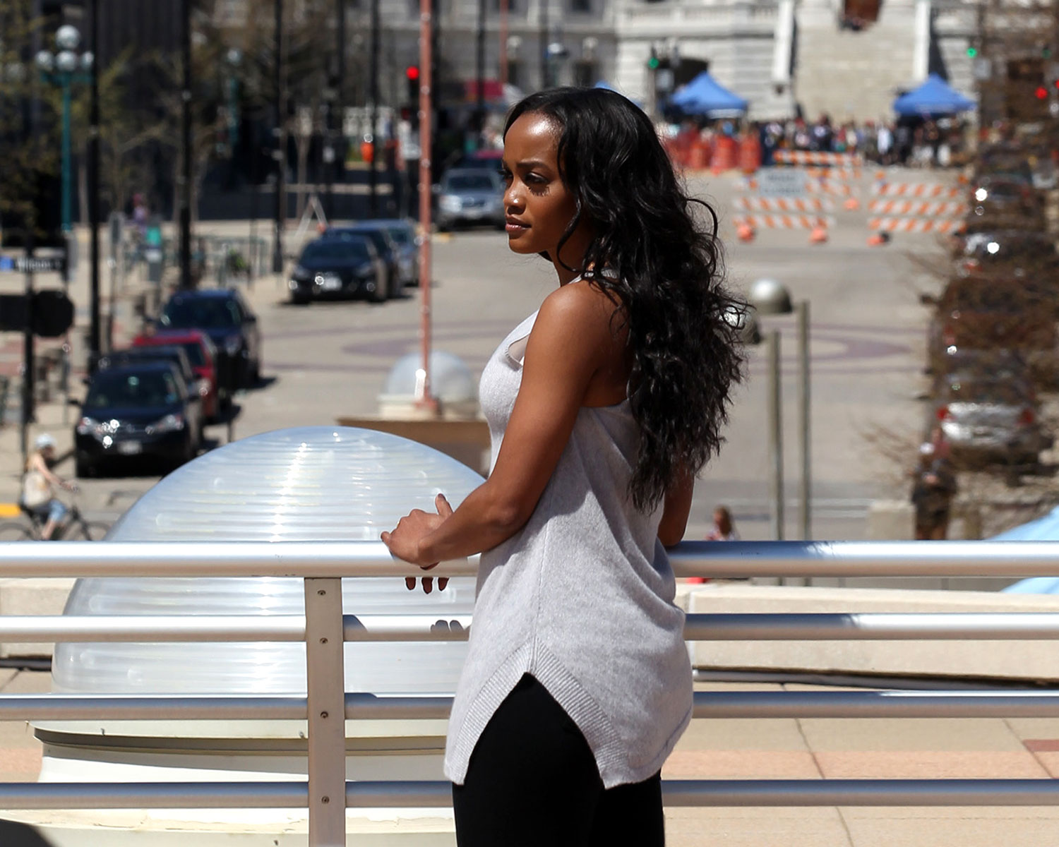 Bachelorette Rachel Lindsay Sent One Suitor Home On The Monday July 17 Episode ABC George Burns RACHEL LINDSAY