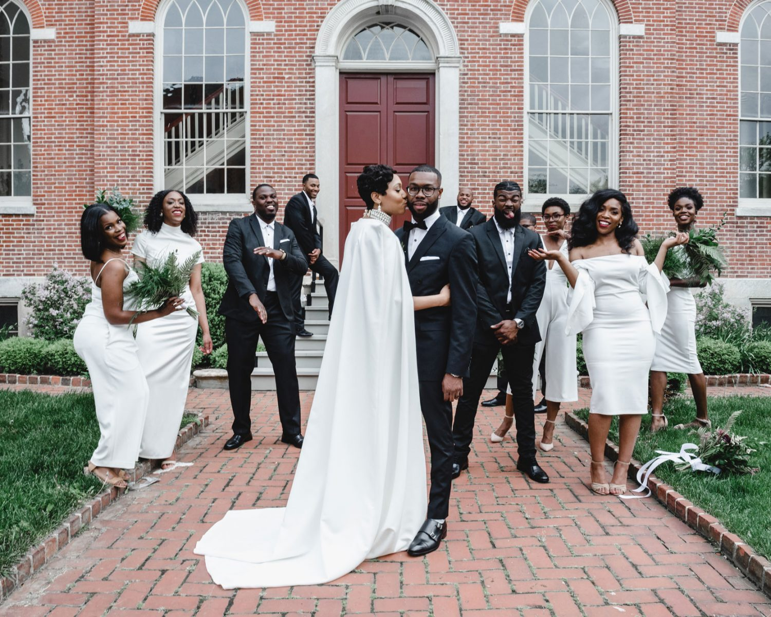 Bride Recreates Solange's Epic Wedding Party Photo, Nails It