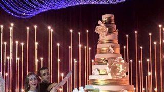 Tycoon russian armenian million wedding