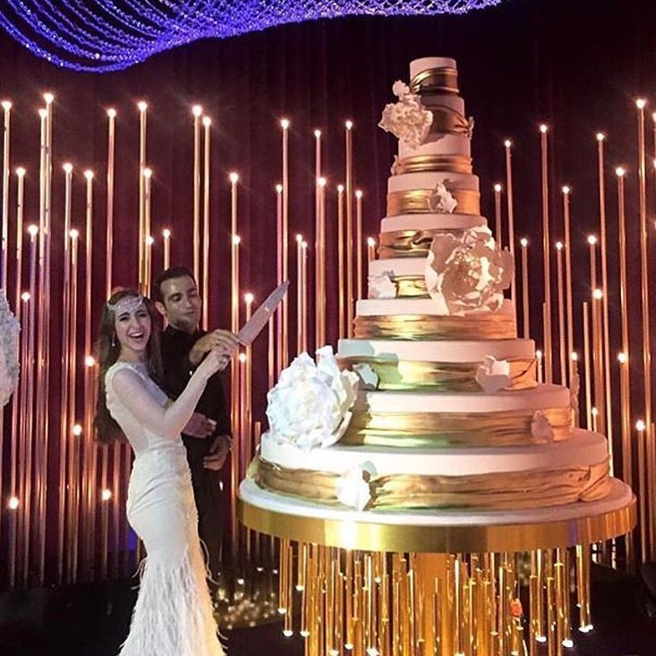 Scions Marry In $10 Million, Hollywood-Themed Wedding: Photos