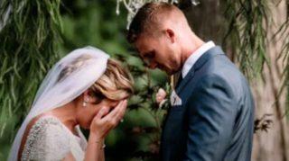Bride Breaks Down