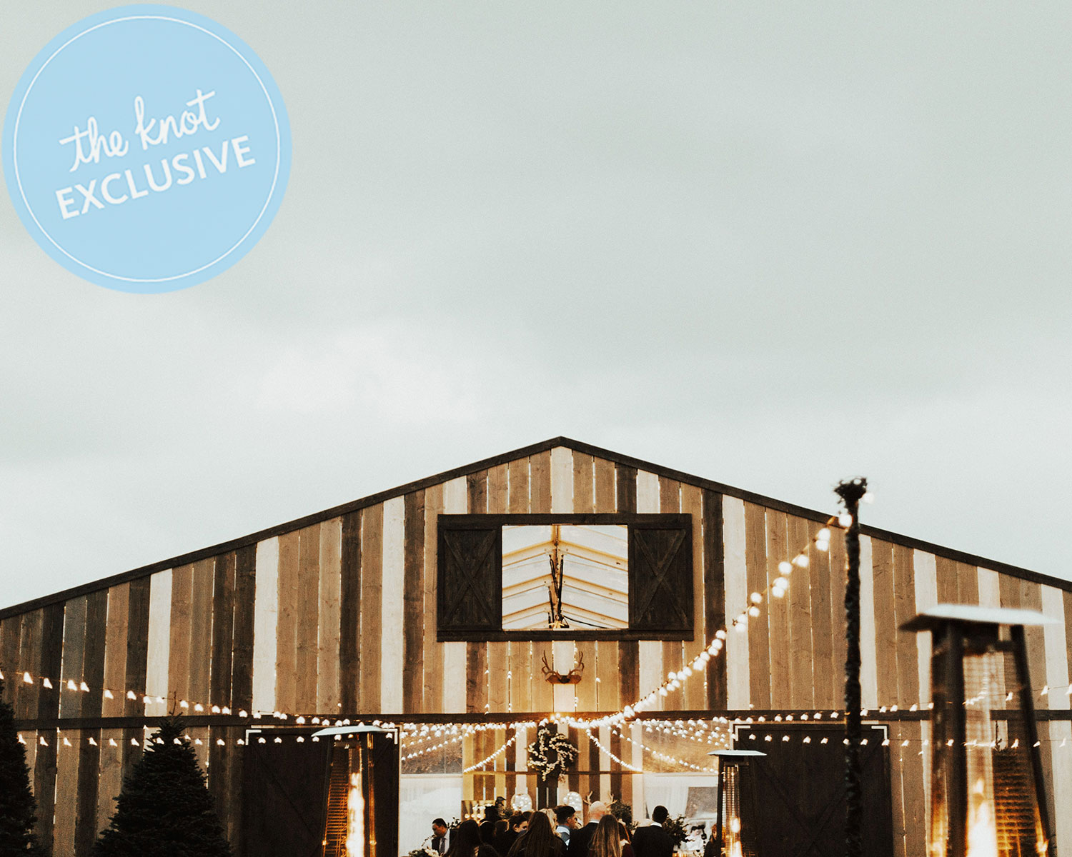 Bryce and Kayla Harper Built a Barn on a Polo Field for Wedding