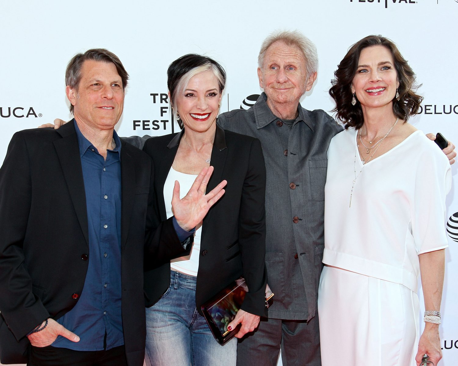 Terry Farrell Adam Nimoy engaged