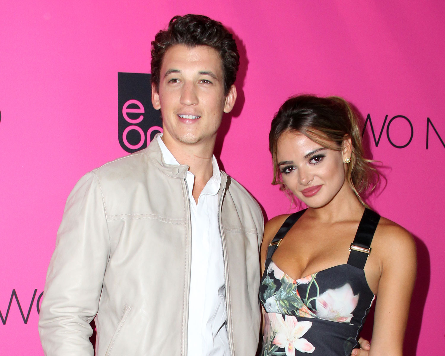 Miles teller Keleigh Sperry