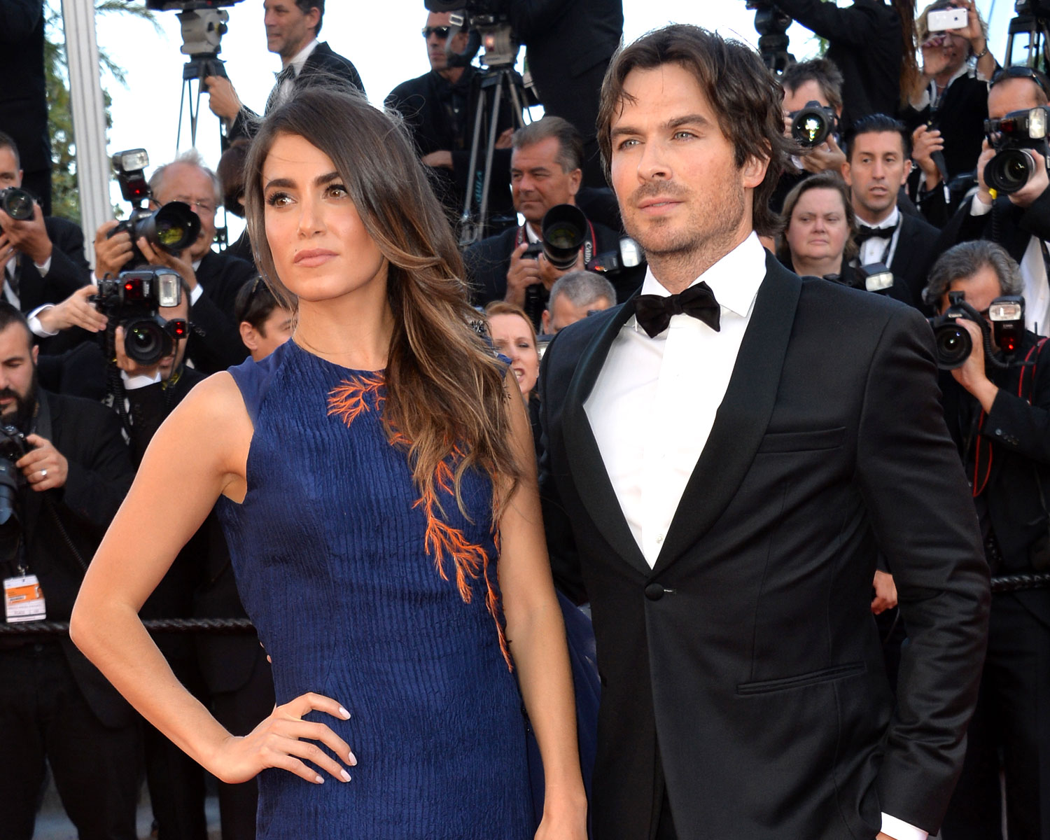Nikki Reed Ian Somerhalder baby pregnancy note