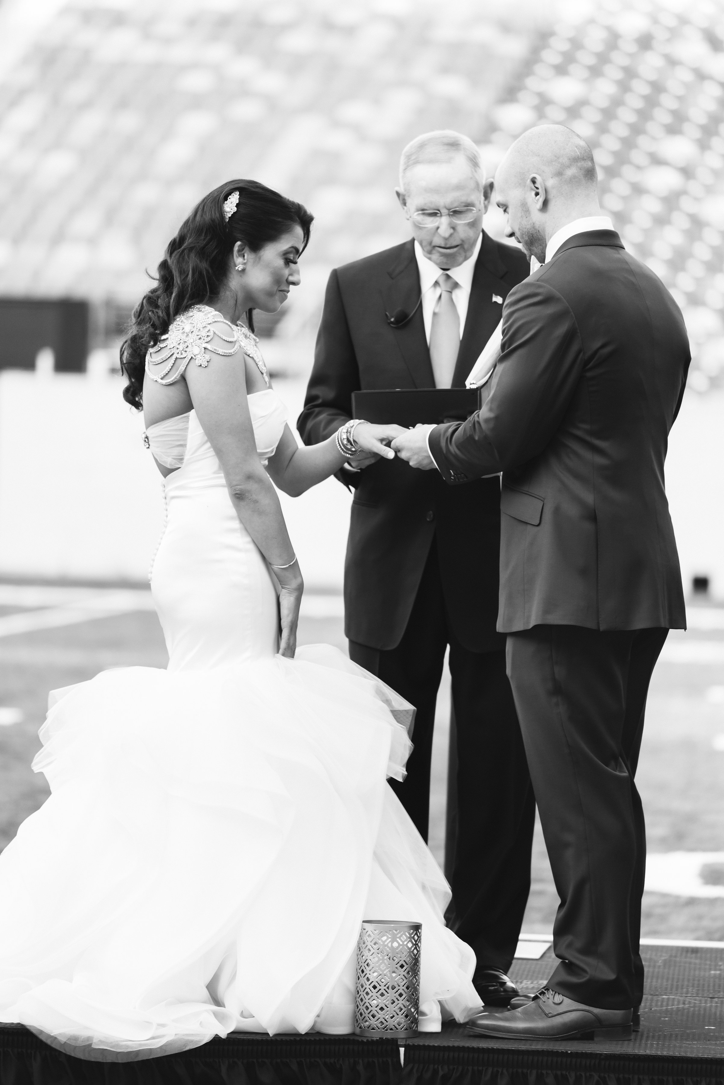 giants stadium metlife wedding