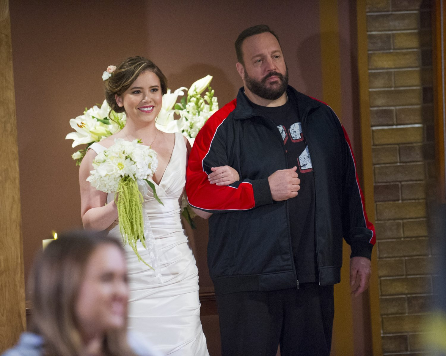 Kevin Can Wait wedding