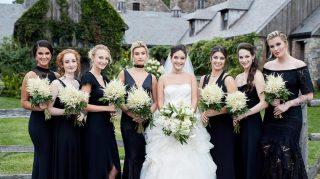 Hailey Ireland Baldwin bridesmaids wedding