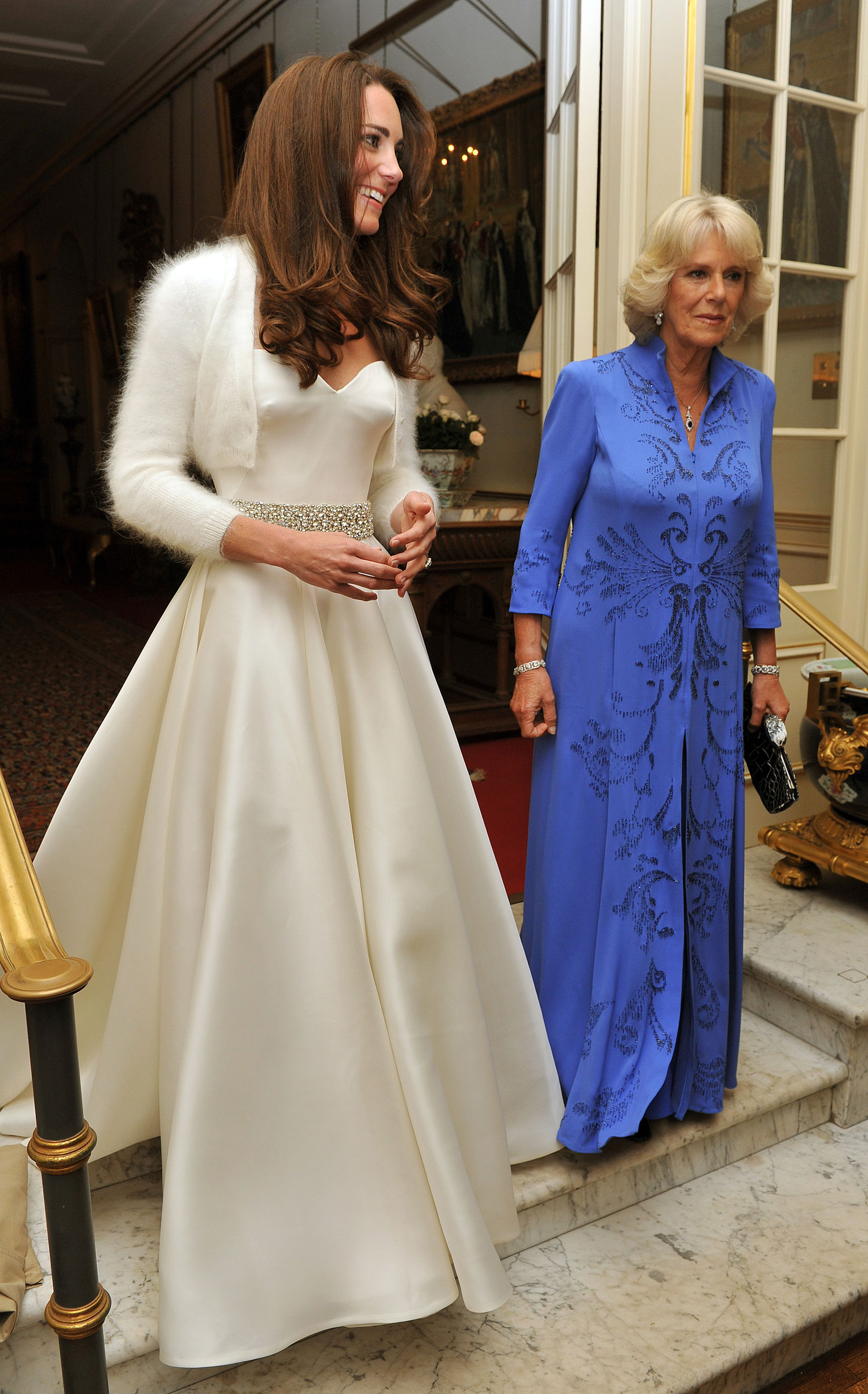 Kate Middleton second wedding dress