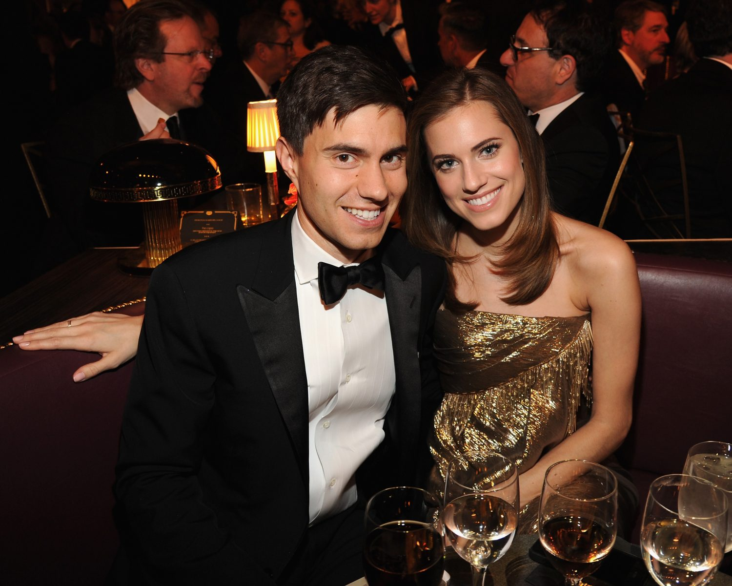 Allison Williams wedding cake