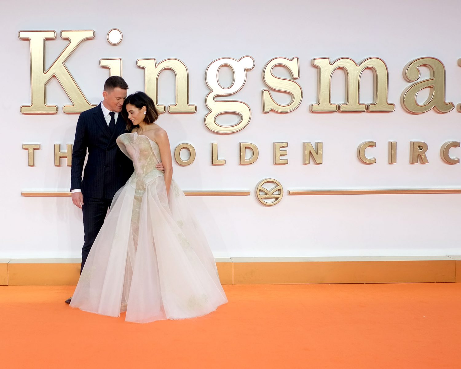 Jenna, Channing Tatum Dress Like They\'re Walking Down the Aisle