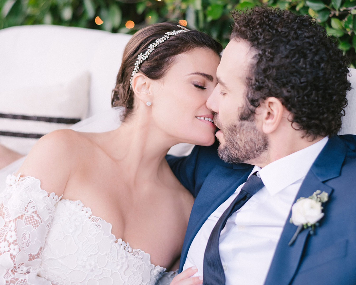 Idina Menzel Shares Photos From Her Wedding To Aaron Lohr