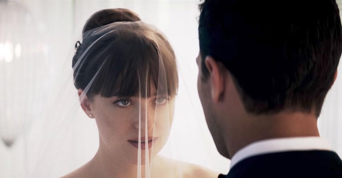 Fifty shades freed wedding