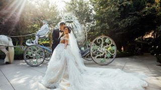 disney wedding fairy tale