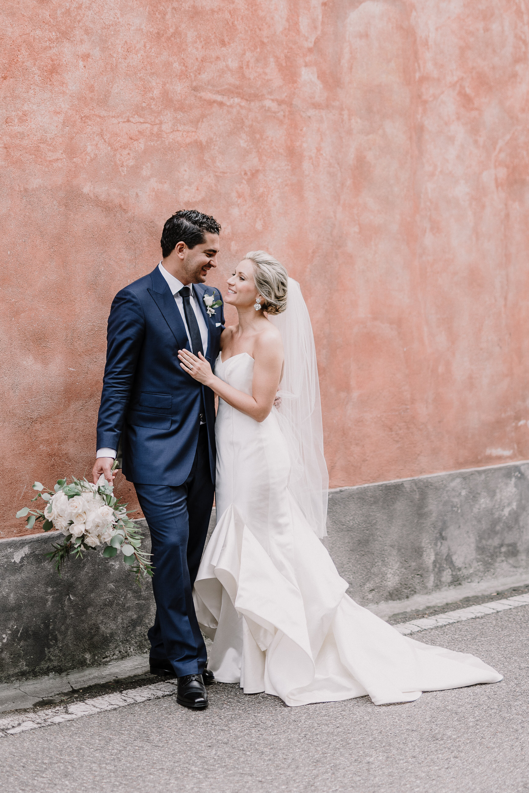 AJ Nicholas and Dali Belkhiria Wedding Day Album. (Credit: Gianluca and Mary Adovasio)