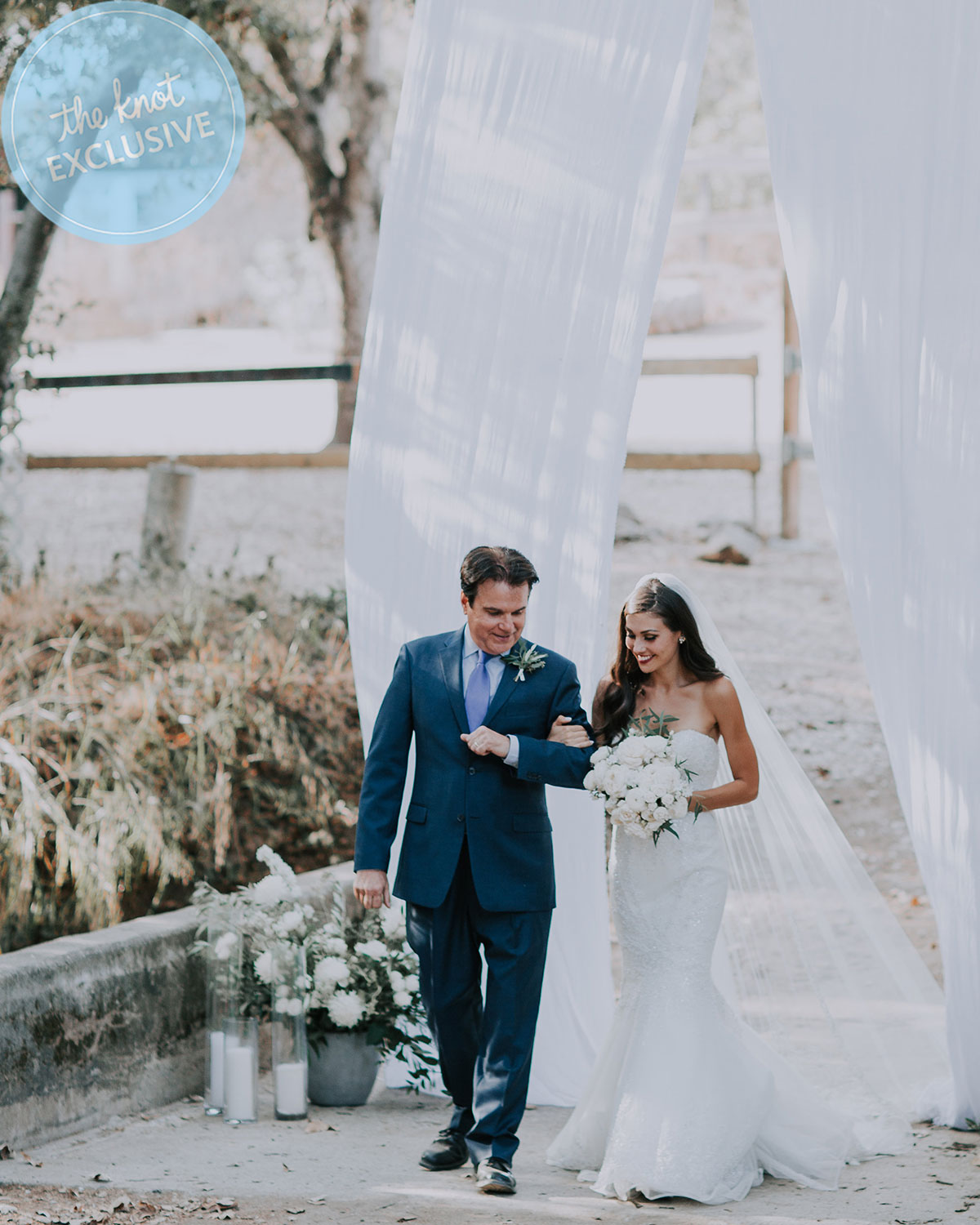 Britt Nilsson and Jeremy Byrne's wedding, California, September 2017. (Amy Vafa / Vafa Photography)