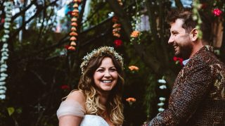Charlotte church wedding photo