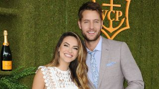 Justin Hartley and Chrishell Stause wedding planning