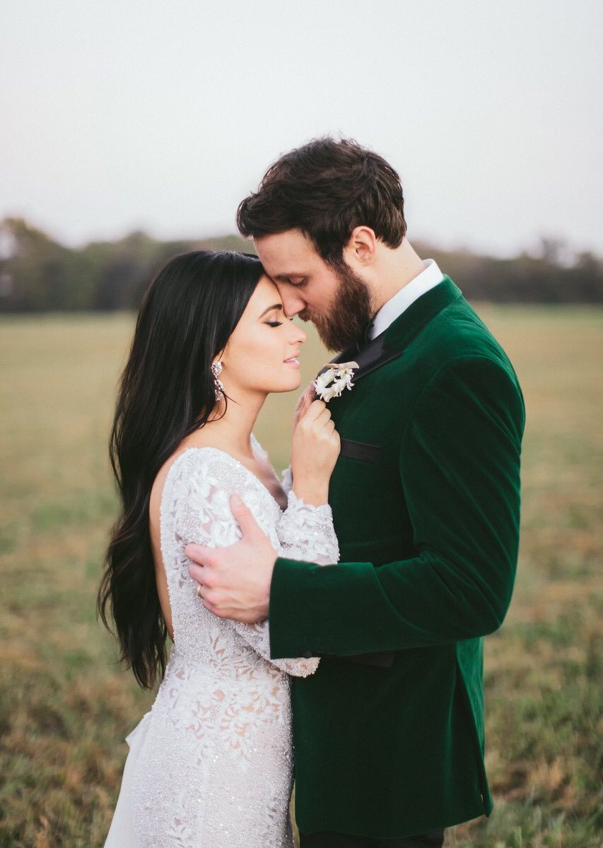 kacey musgraves wedding dress details  berta  handcrafted lace