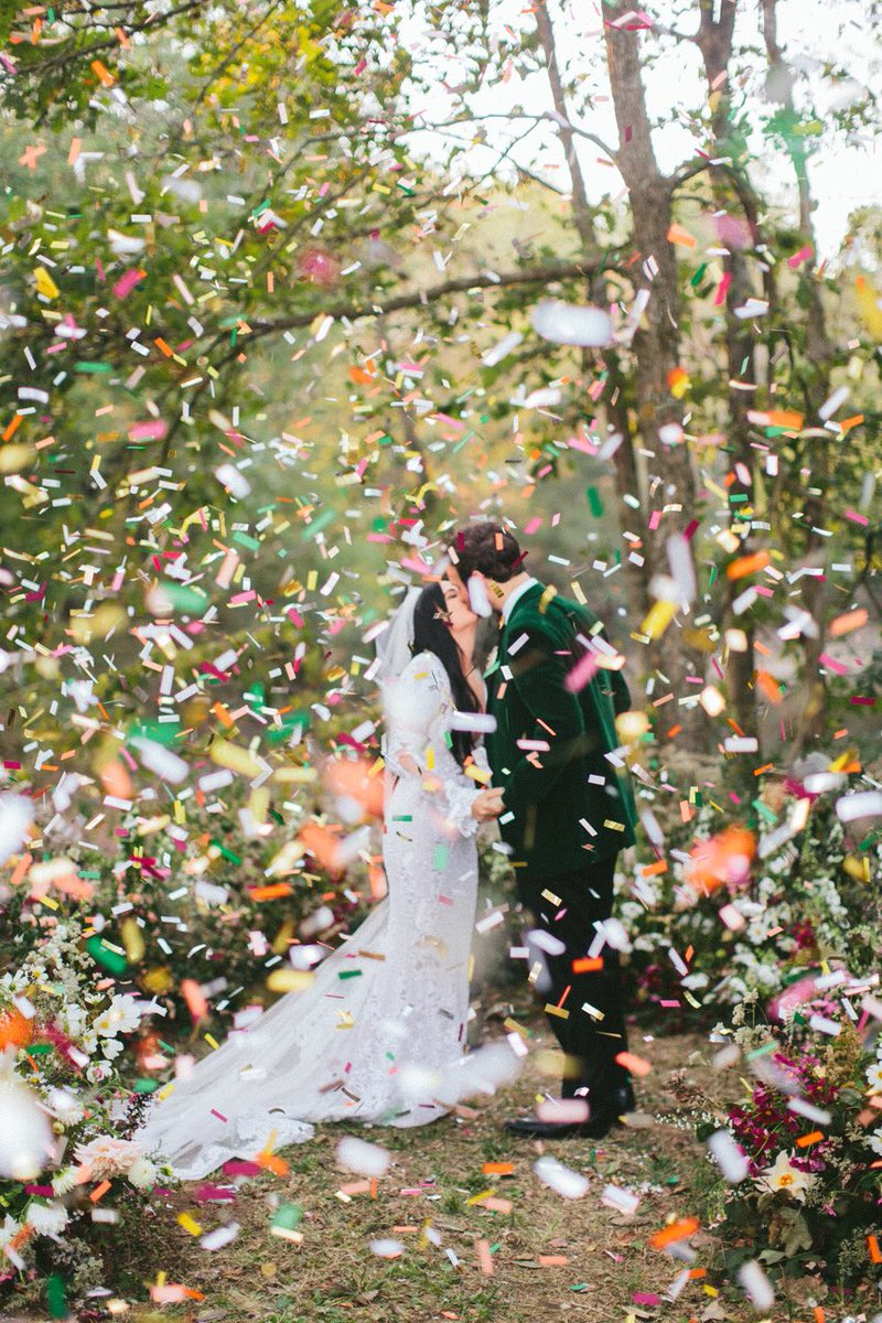 Kacey Musgraves and Ruston Kelly wedding. October 2017. (Credit: Natalie Barrett / NBarrett Photography)