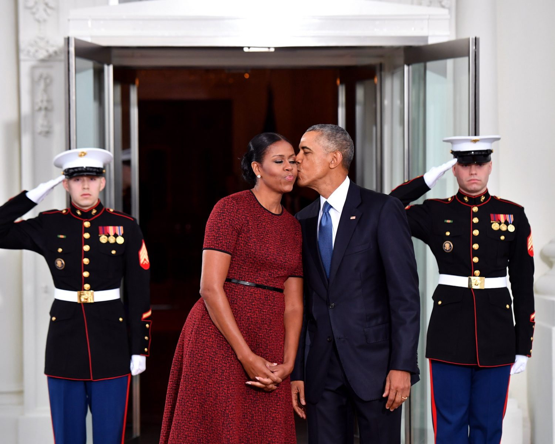 Obama anniversary wedding