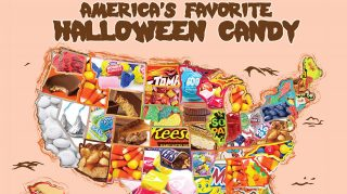 The results are in: These are the most popular Halloween candies by state.