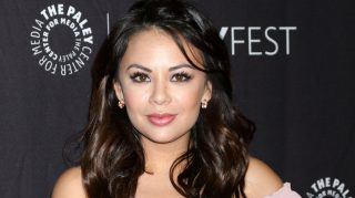 Janel Parrish engaged