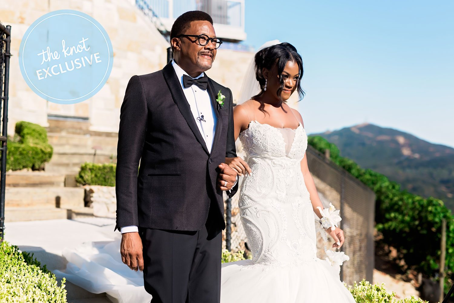 Johnny Mathis Wedding.Judge Mathis On His Daughter Camara S Wedding Exclusive Photos